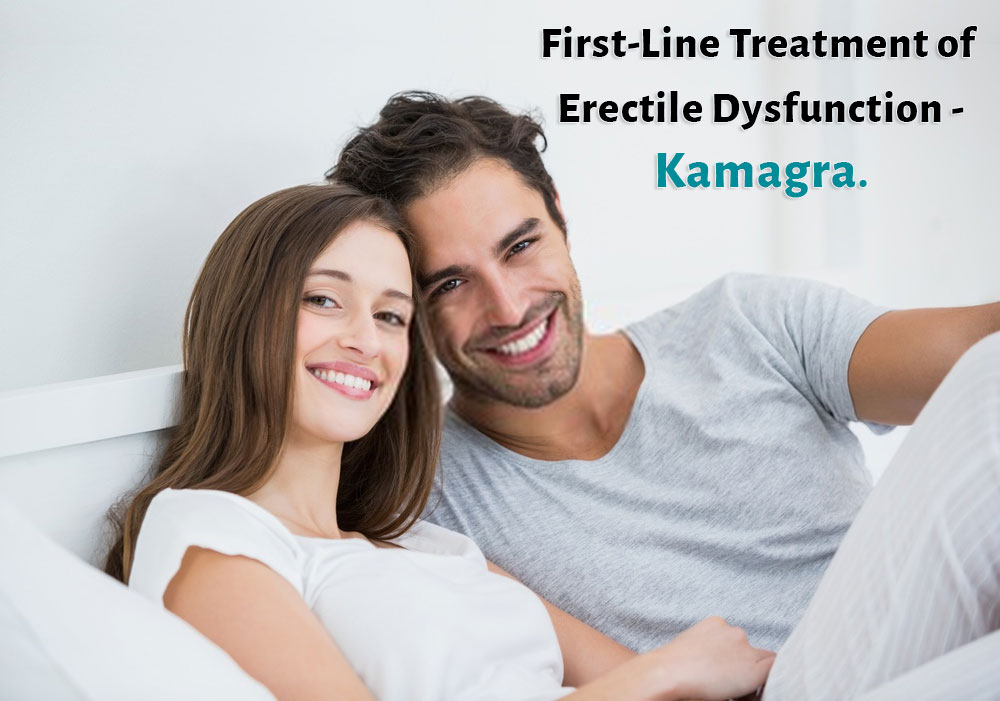 First-line of treatment of erectile dysfunction - Kamagra