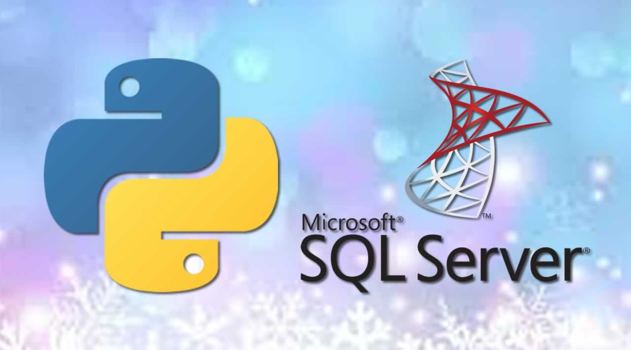 Python with SQL Server Database