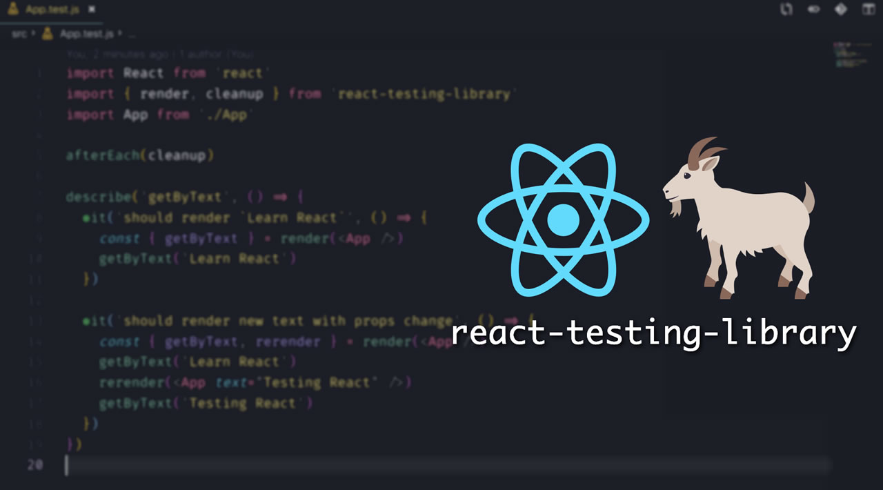 Semantic tests with React Testing Library