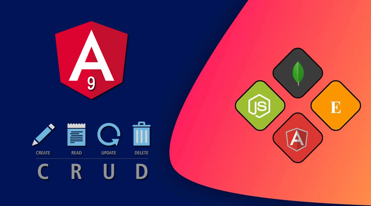 MEAN Stack Angular 9 Build Realtime CRUD Web App Quickly