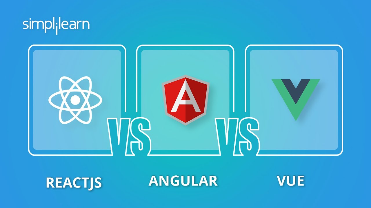 ReactJS vs Angular vs Vue: Best Javascript Framework For Your Project