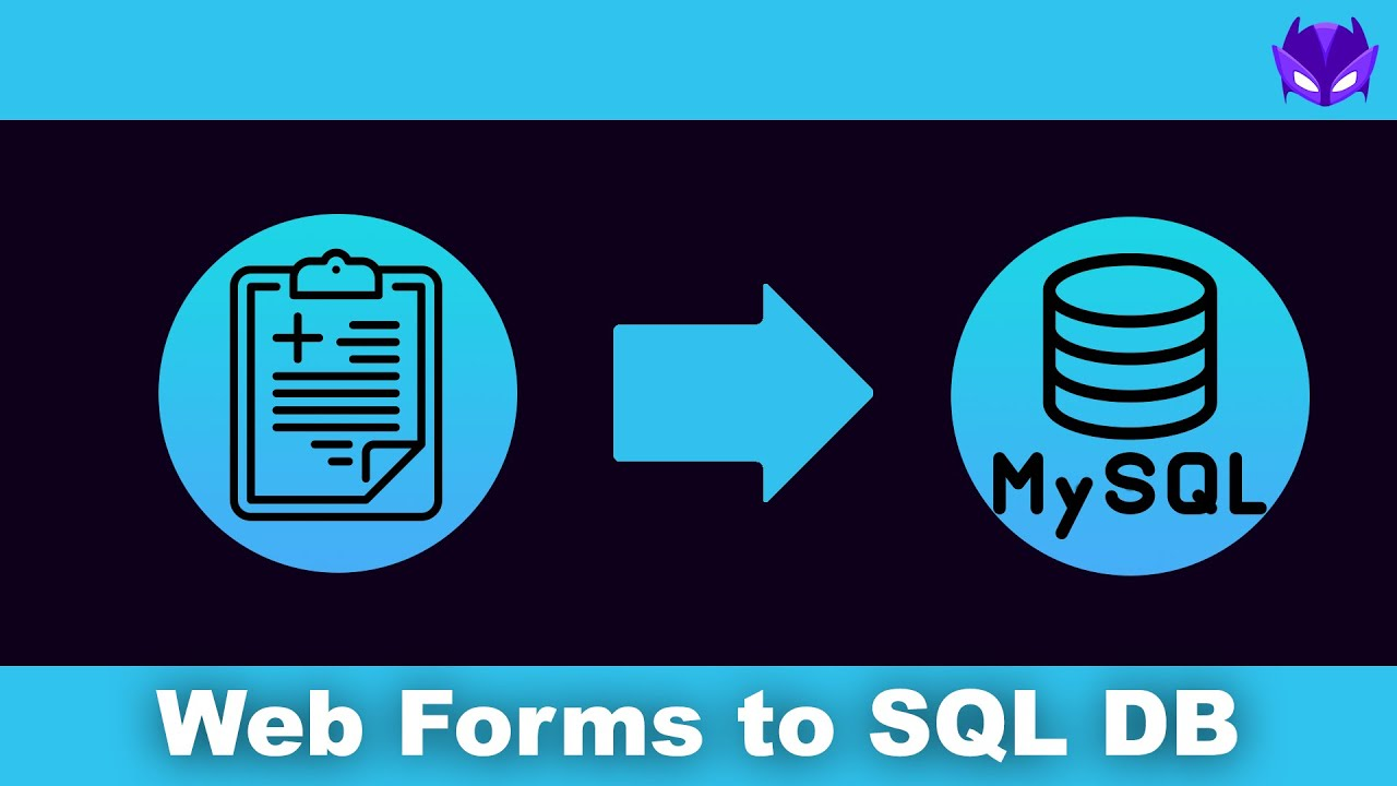 Write Web Form Data to MySQL Databases in Minutes