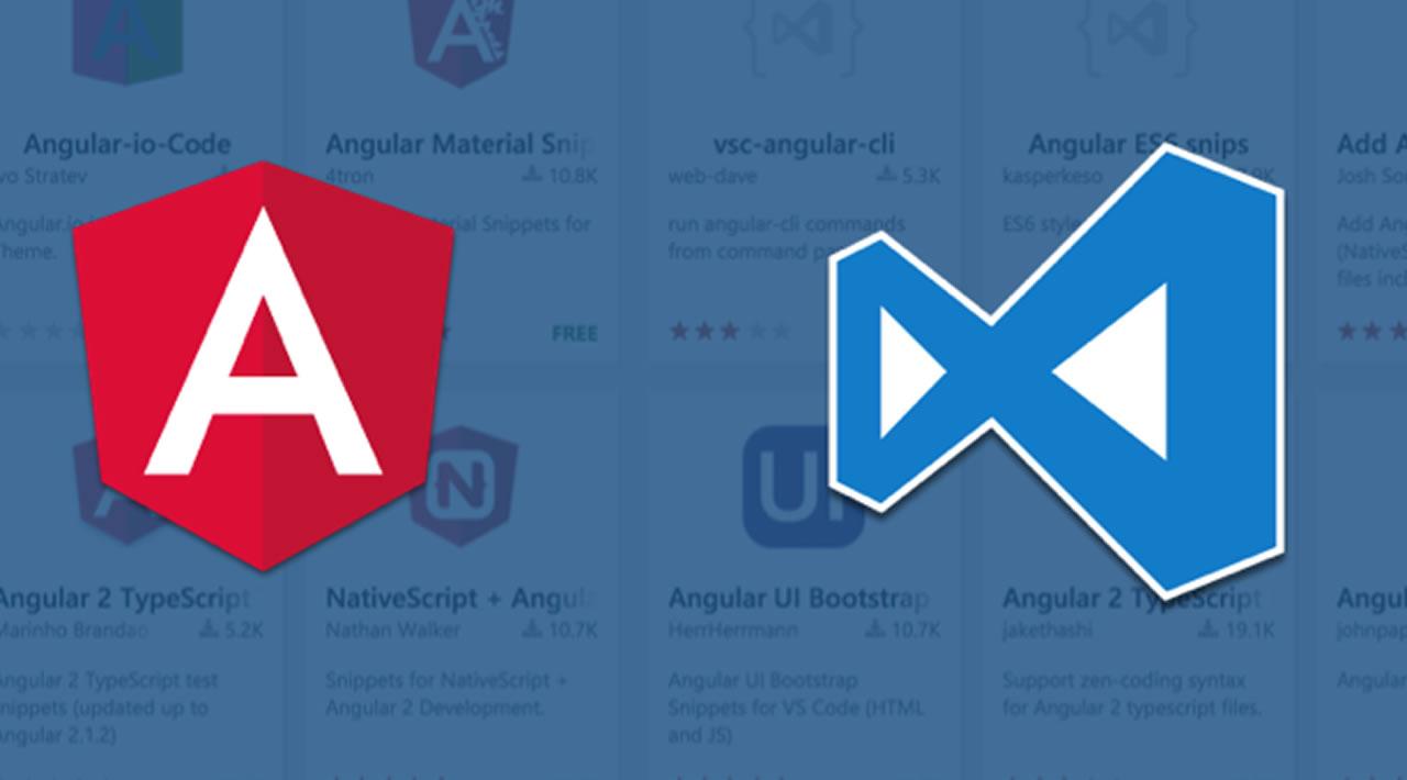 Using Angular in Visual Studio Code