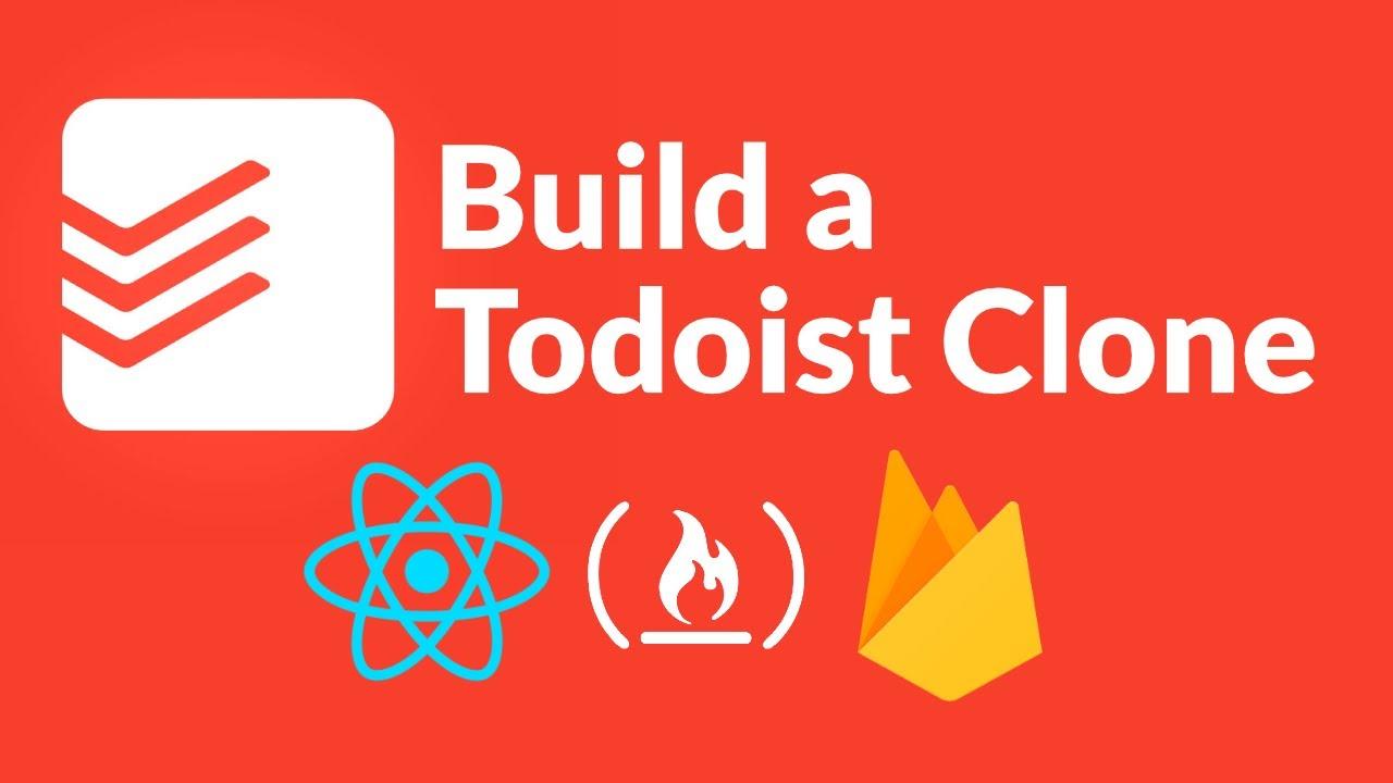 Intermediate React Tutorial - Todoist Clone (with Firebase, Custom Hooks, SCSS, React Testing)