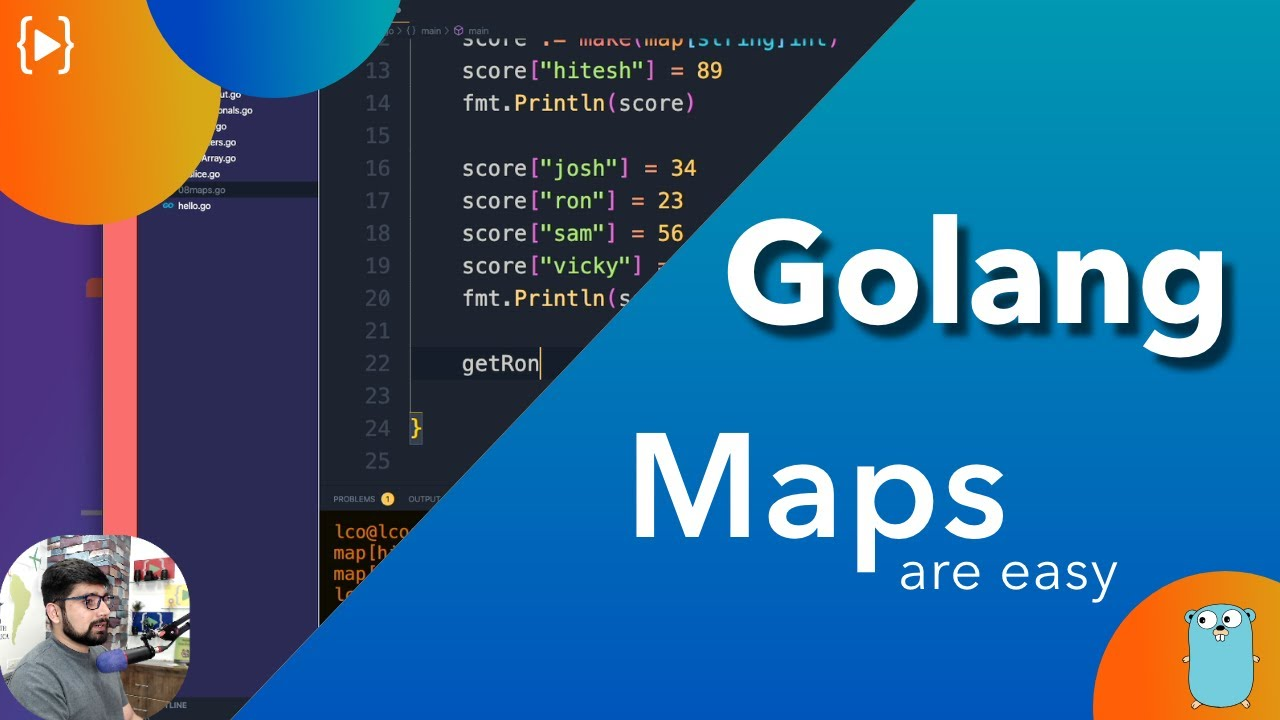 Golang Tutorial - Maps are super easy in Golang