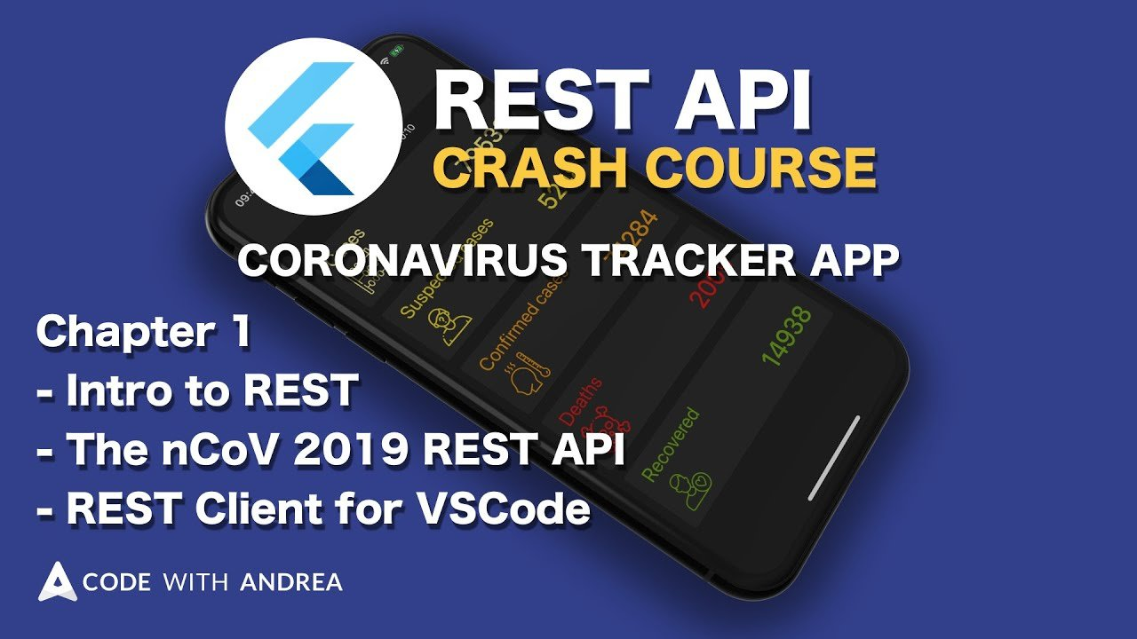 Flutter REST API Crash Course - Part 1: Intro to REST, the nCoV 2019 REST API & REST Client