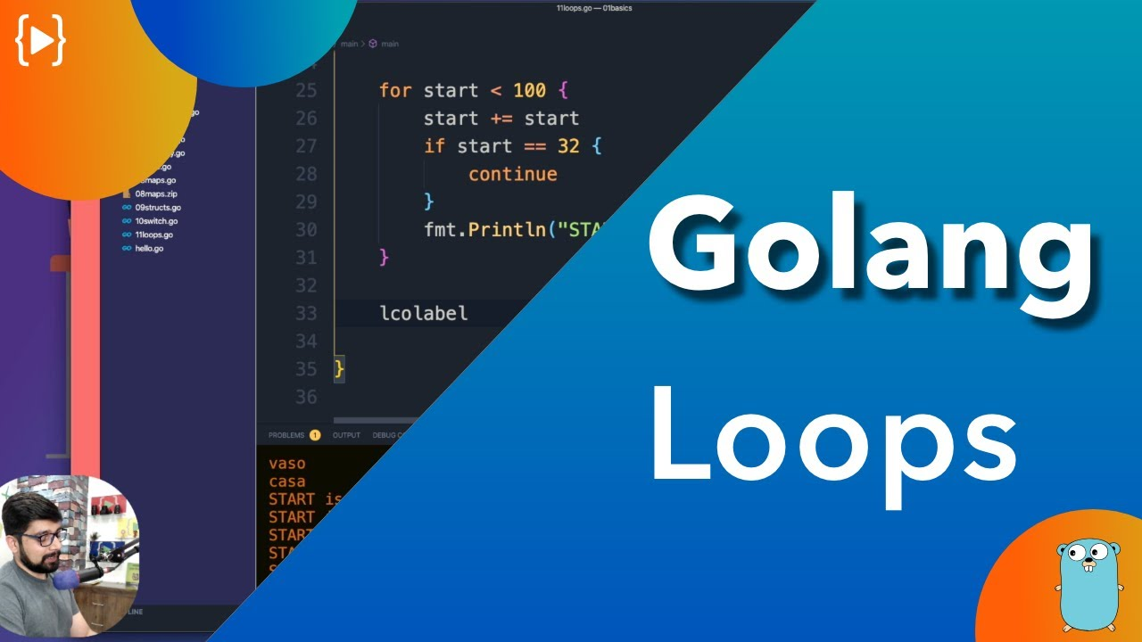 Golang Tutorial - All about Loops in Golang