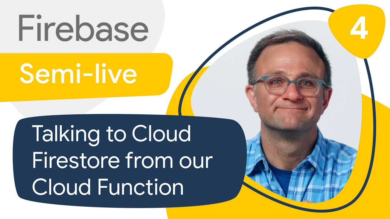 SQL-like joins in Cloud Firestore #4: Talking to Cloud Firestore from our Cloud Function