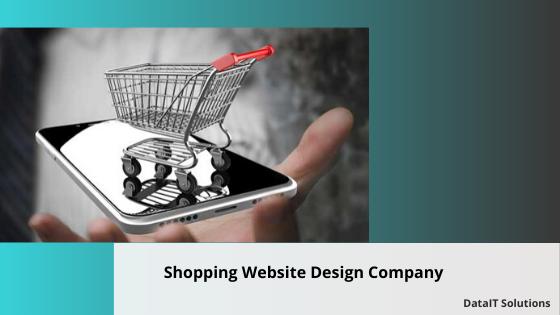 Shopping website design