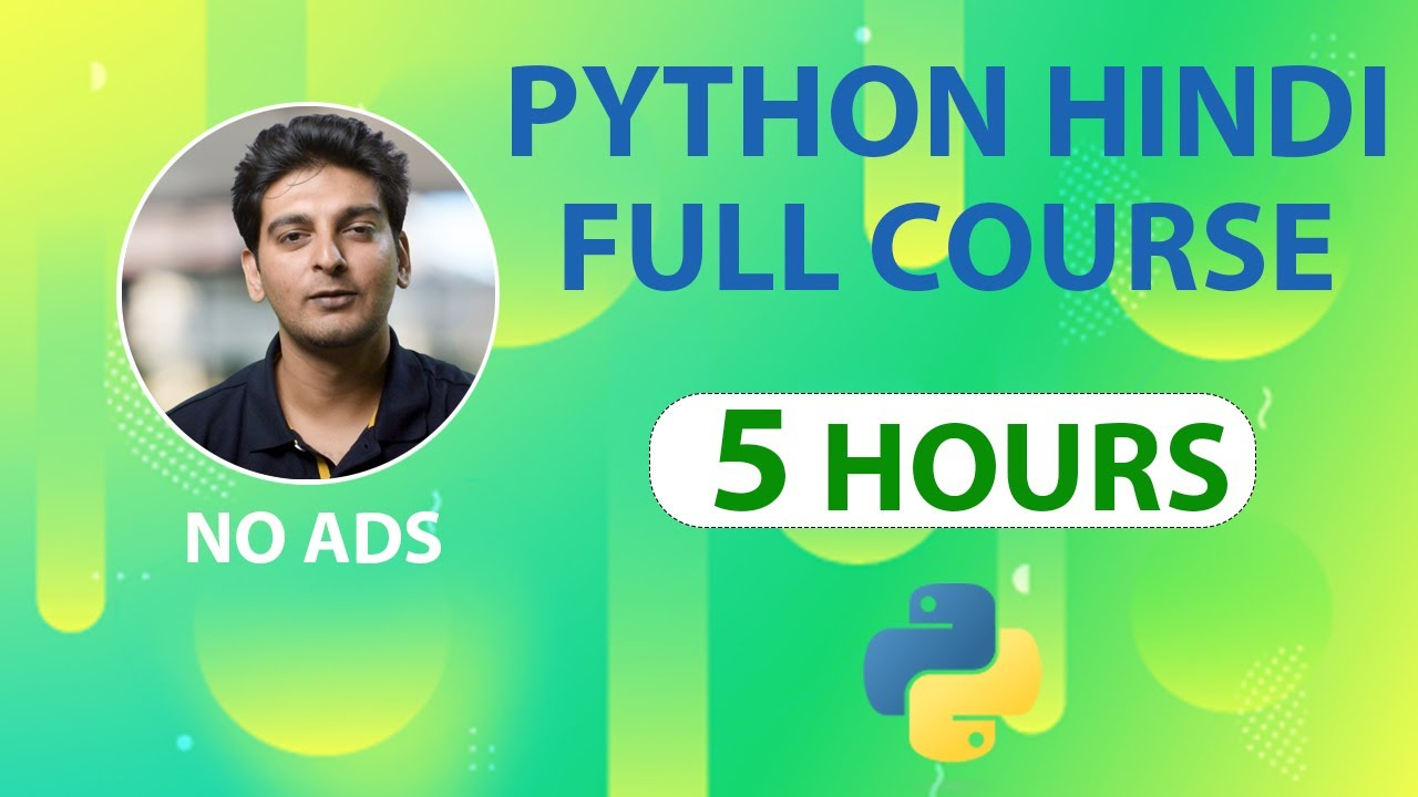 Python Tutorial in Hindi | Learn Python in Hindi | Python Full Course in Hindi