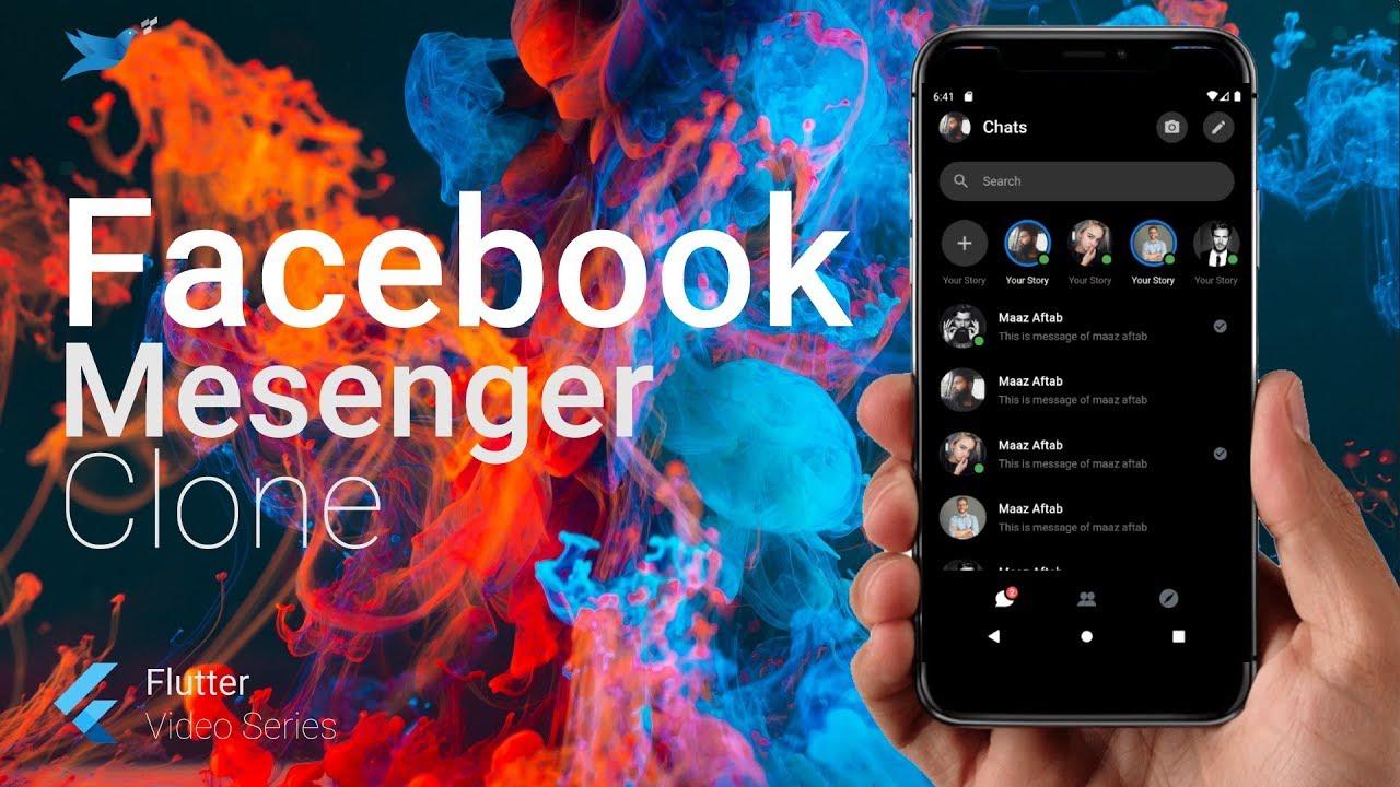 Building Facebook Messenger Clone in Flutter