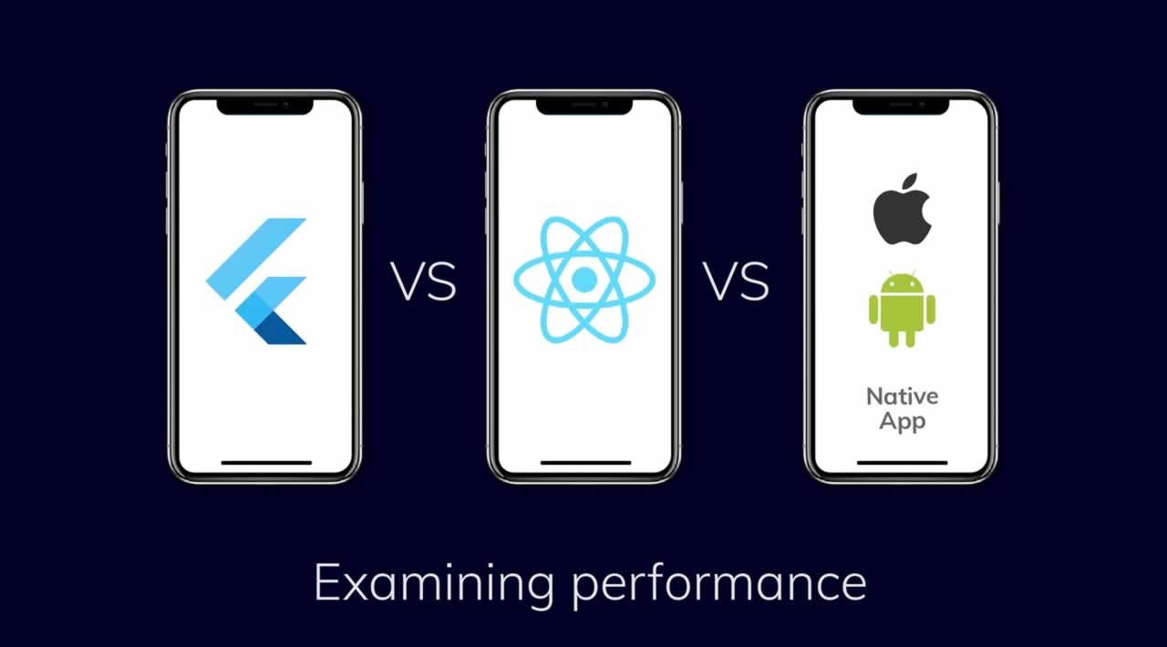 Flutter vs Native vs React-Native: Examining performance