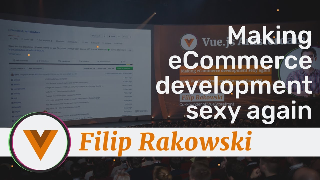 Making eCommerce sexy again with Vue Storefront and Composition API