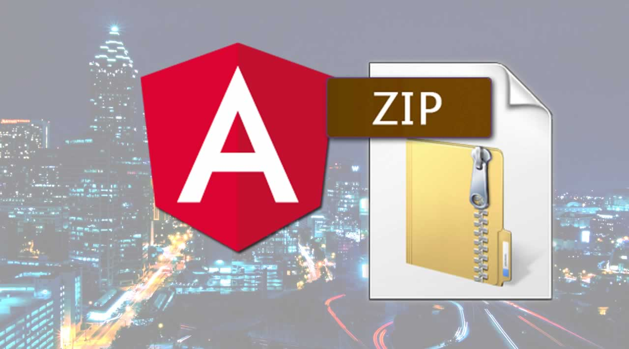 How to Download Multiple Files as a .Zip File using Angular