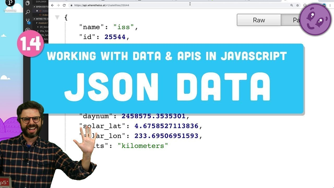 Working With Data & APIs in JavaScript - JSON Data