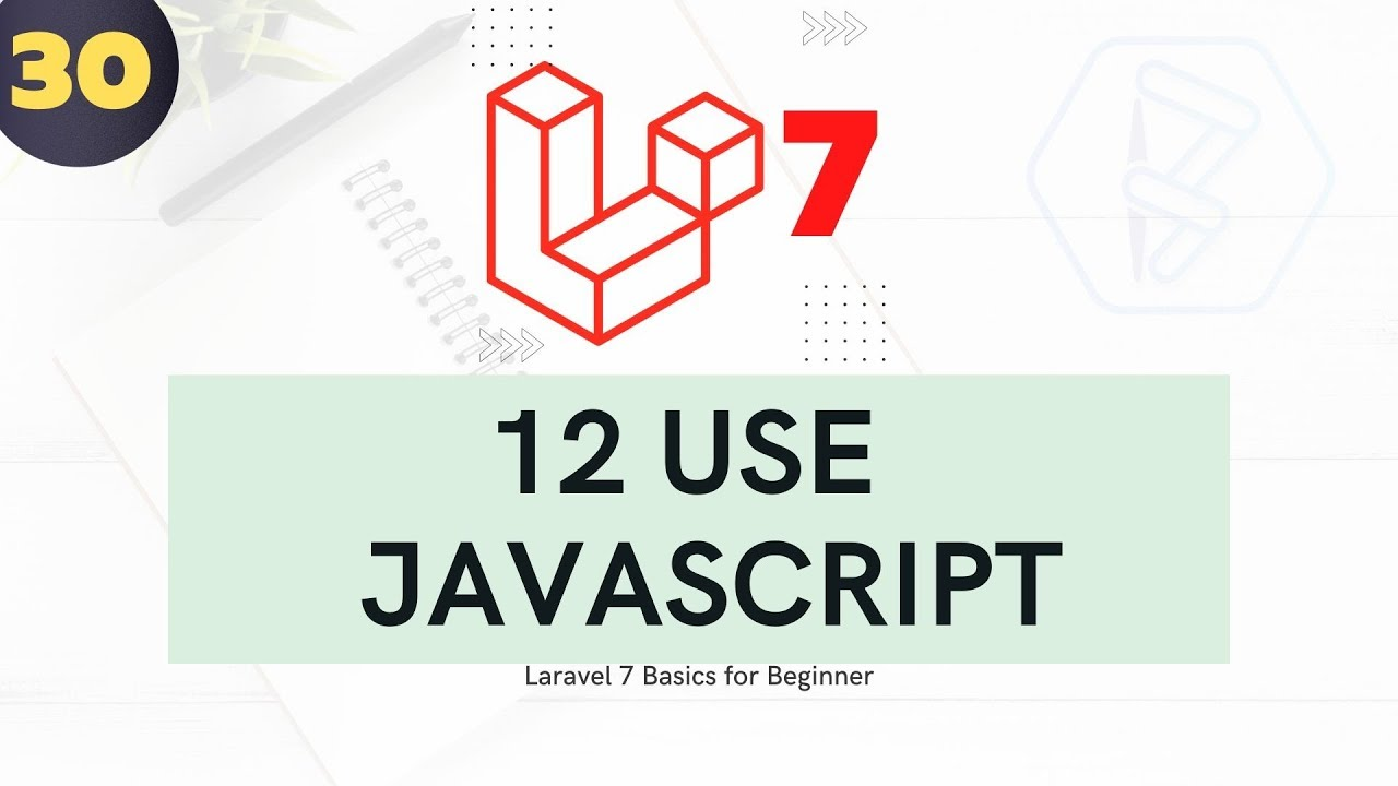 Laravel 7 Tutorial For Beginners - Using Core Javascript