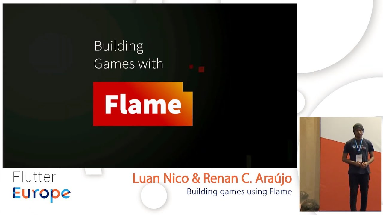 Building games using Flame