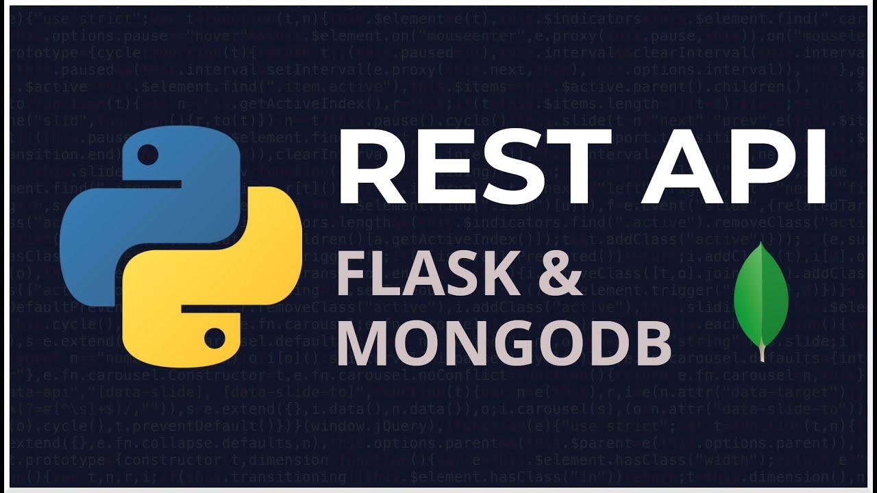 Python Flask & Mongodb REST API (PyMongo & Flask)