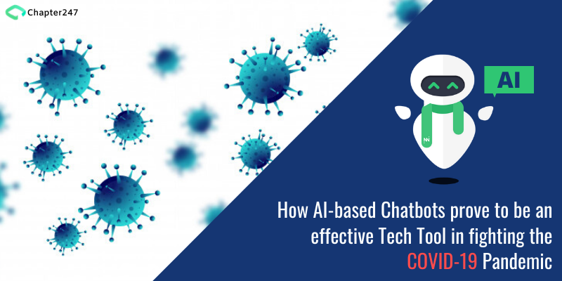 How AI-based Chatbots prove to be an effective tech tool in fighting the COVID-19  Pandemi