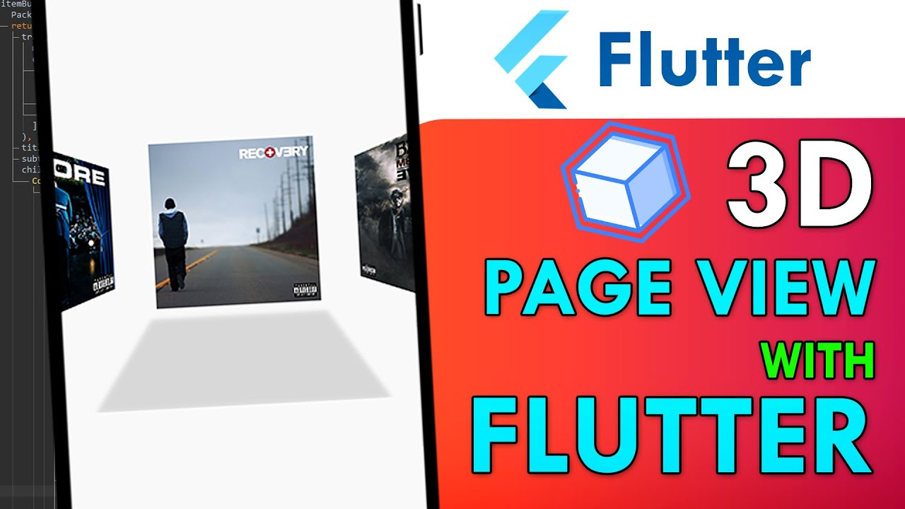 Creating an 3D Perspective PageView using Flutter and Matrix4