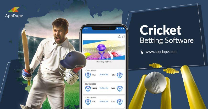 Live cricket betting software mine bitcoins gpu test