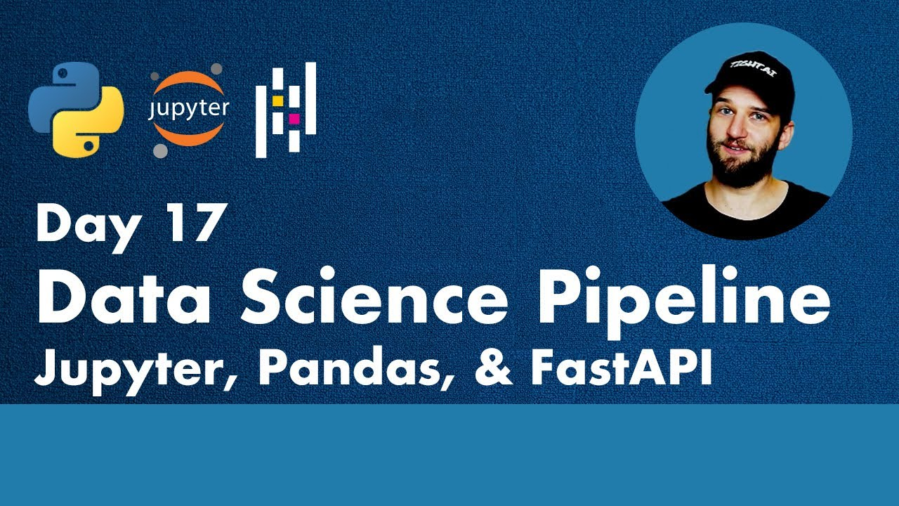 Data Science Pipeline with Jupyter, Pandas & FastAPI