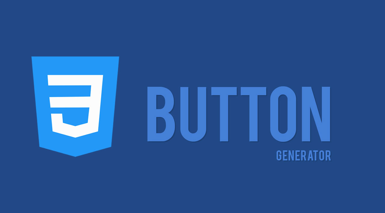 CSS Button Generator (Mini) using HTML, CSS, and JavaScript