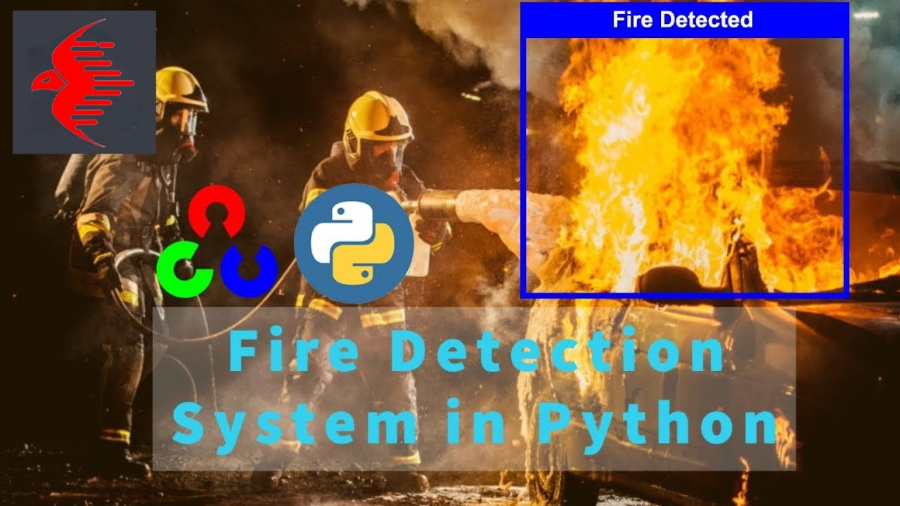 Real-time Fire Detection Using Python