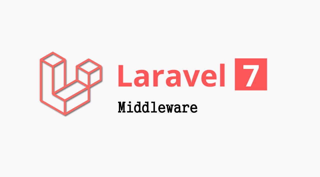 The Basics of Laravel 7 - Middleware