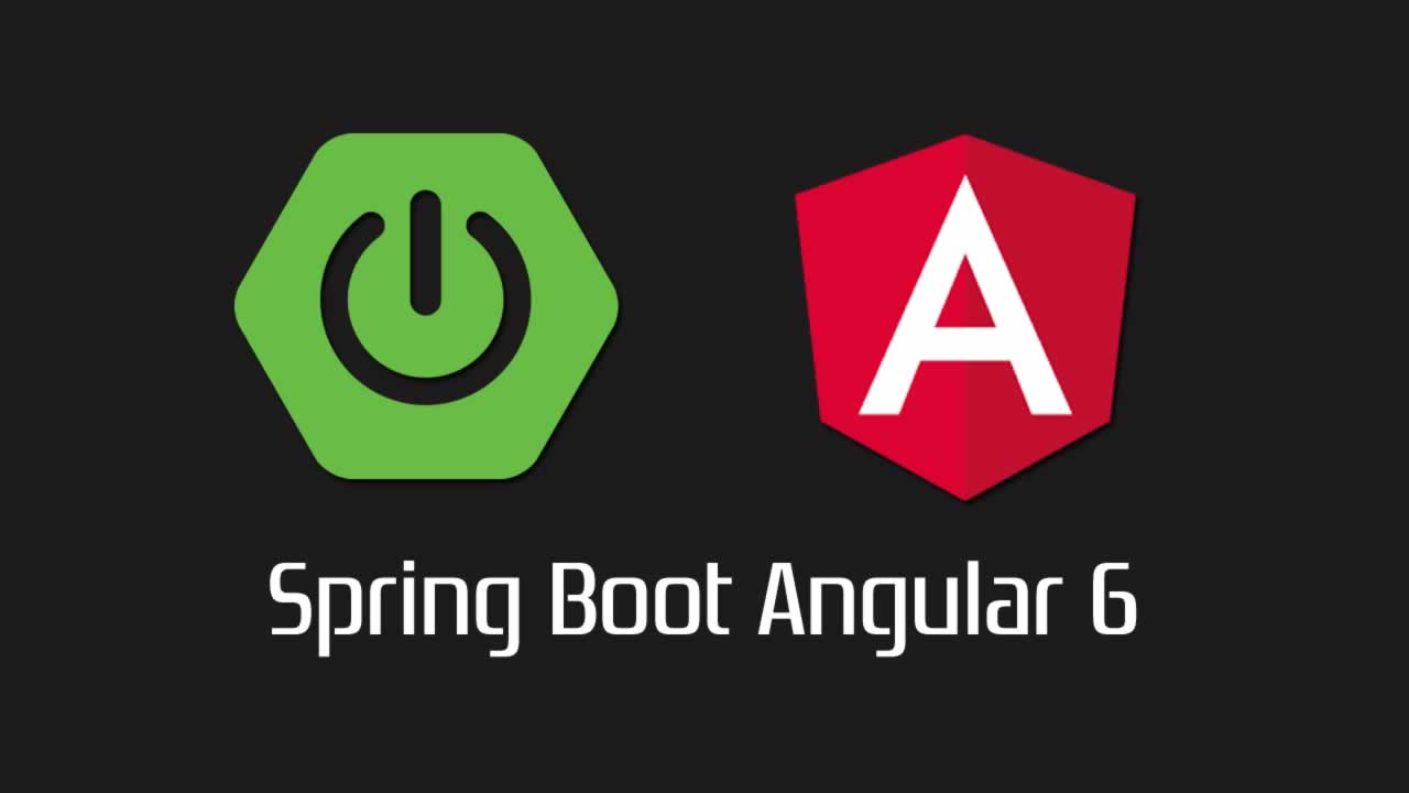 Built Secure API with Spring Boot Angular 6