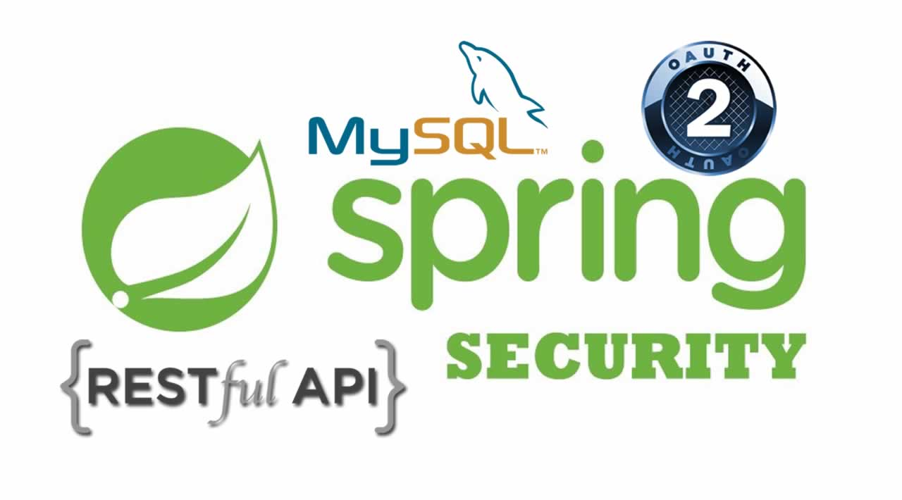 Spring REST API Security Tutorial: Using OAuth2 + MySQL
