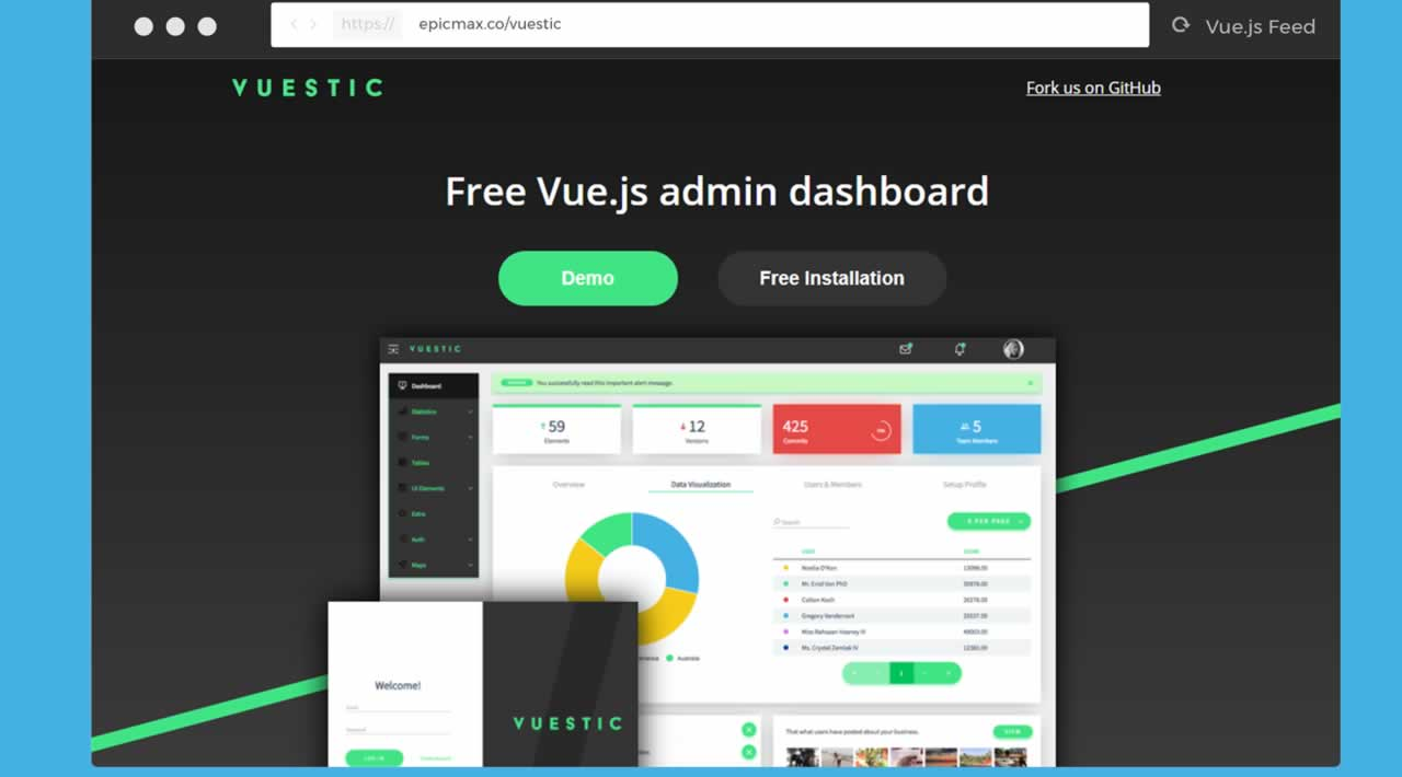 Vuestic Admin
