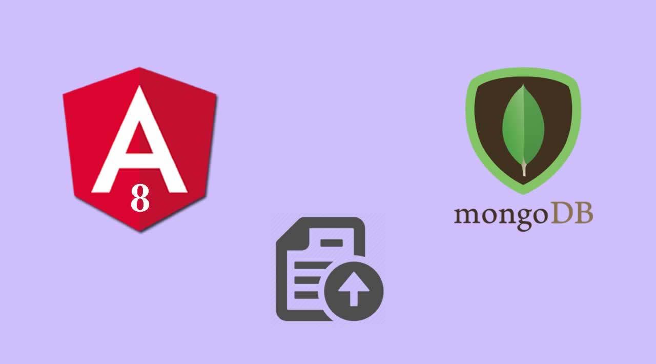 How to Drag and Drop File Uploading with MongoDB and Multer in Angular 8