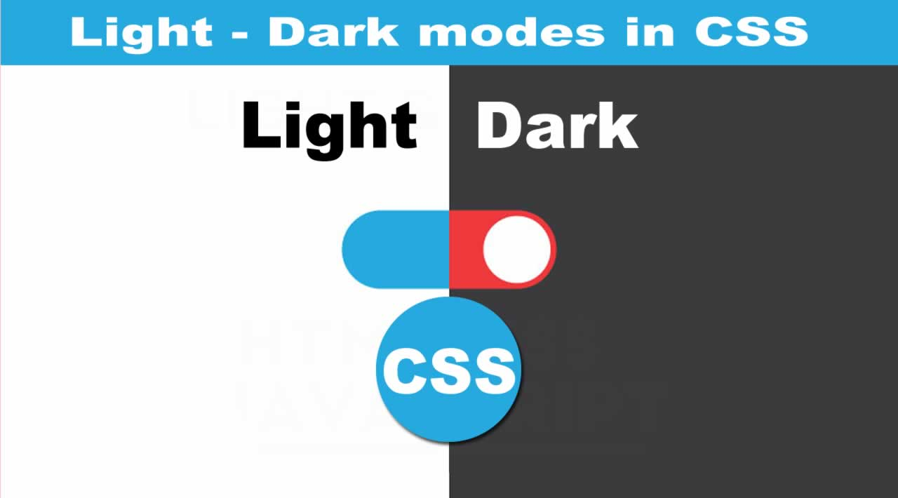 A Step-by-Step Guide to implement light/dark modes in CSS