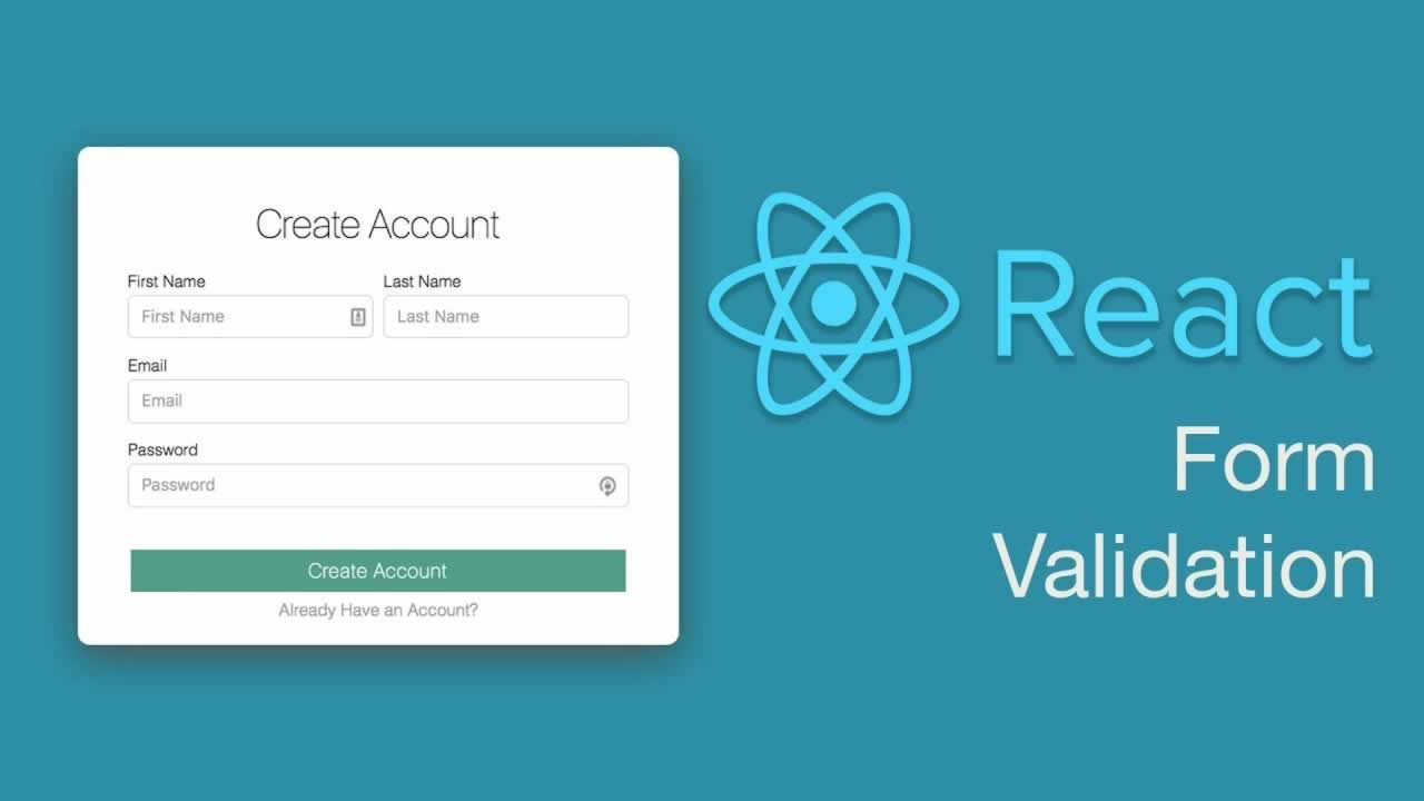 How To Creating React Form Validation With Formik And Yup