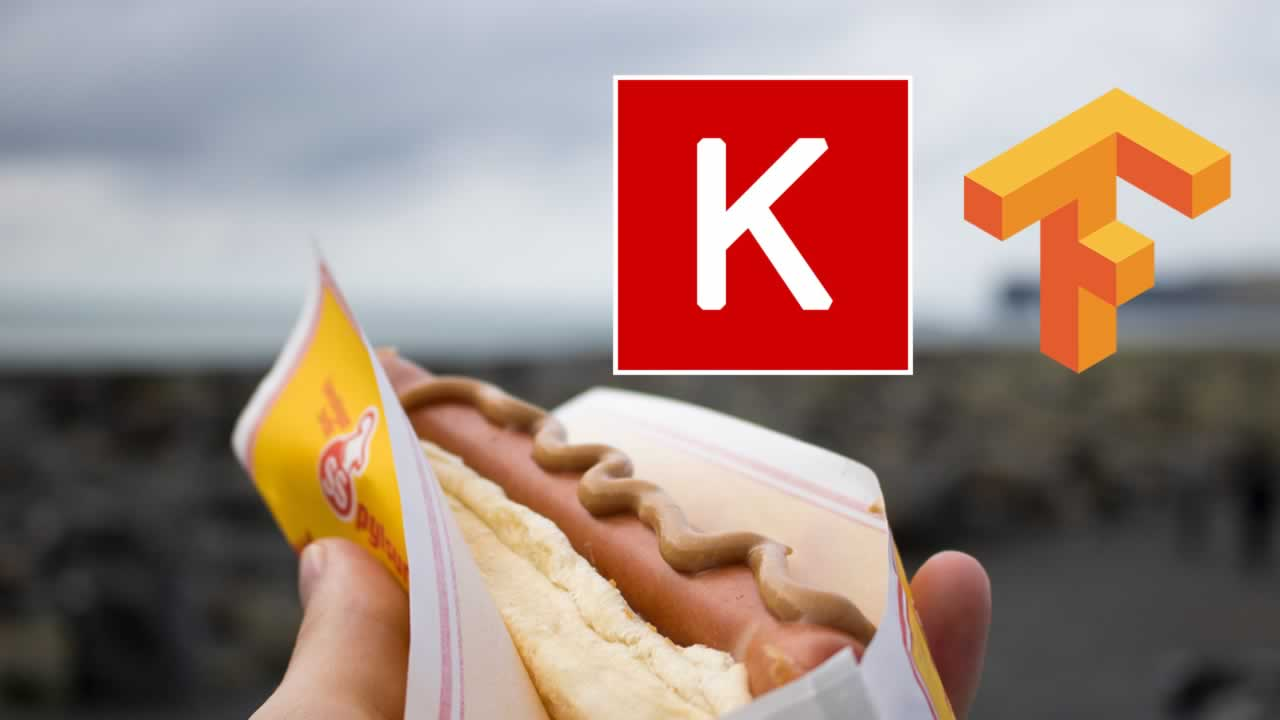Not Hotdog with Keras and TensorFlow js