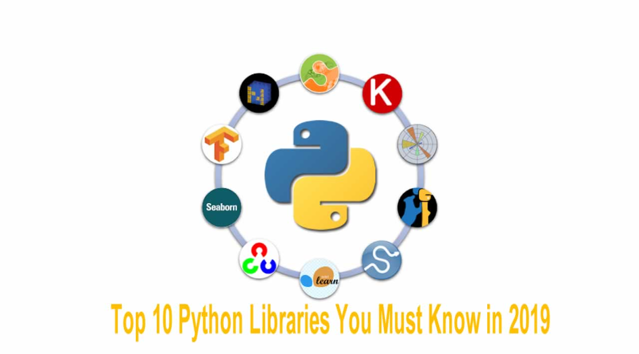 Top 10 Python Libraries You Must Know in 2019