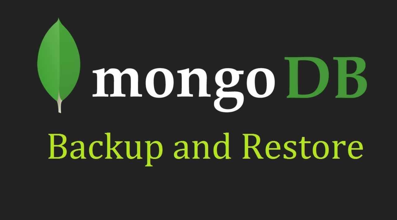 MongoDB Tutorial - How to backup and restore a database