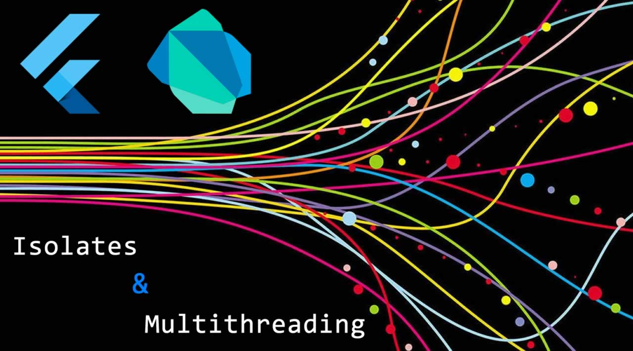Isolates and multithreading in Flutter