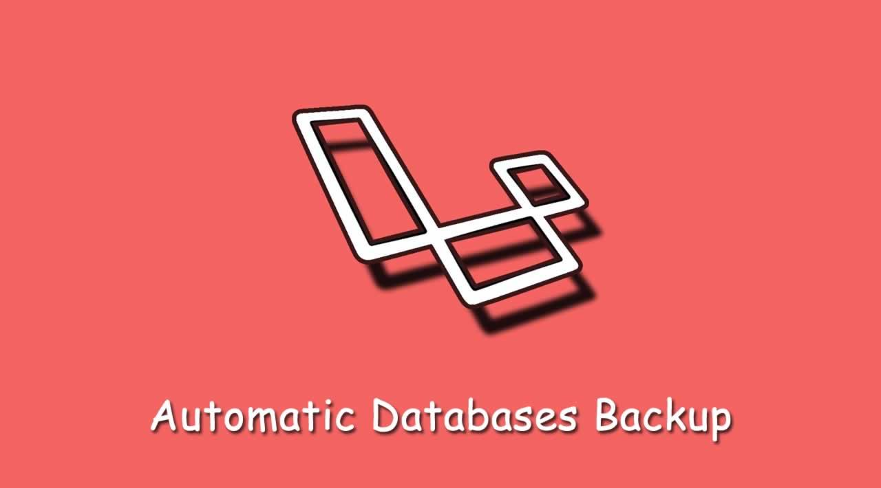 How to setup automatic Databases backup in Laravel