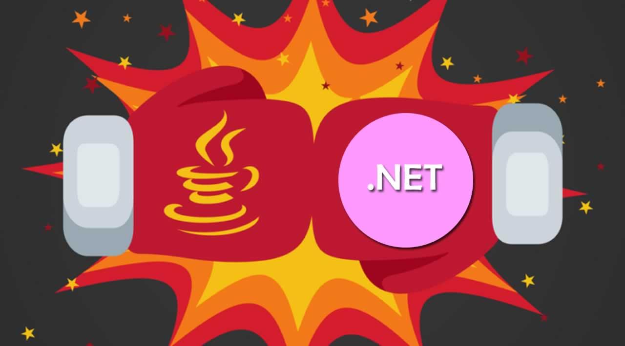 .NET or Java for Web Development