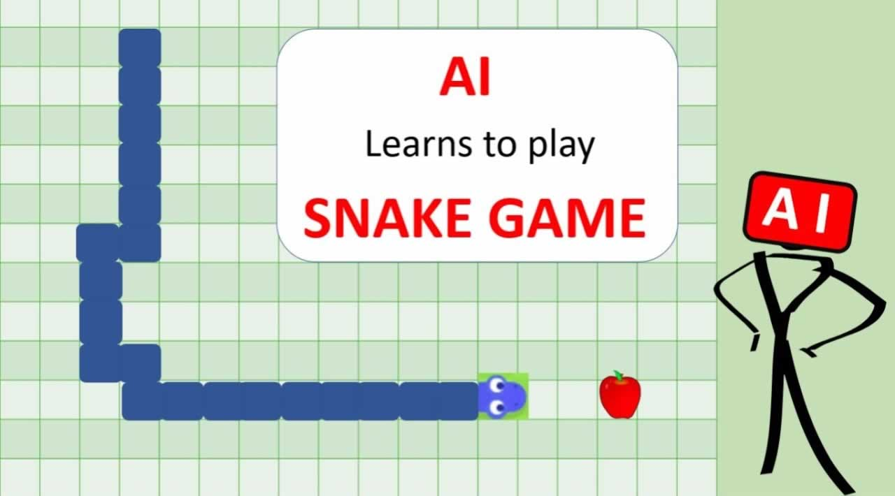 AI learns to play Snake using a Genetic Algorithm and Neural Network