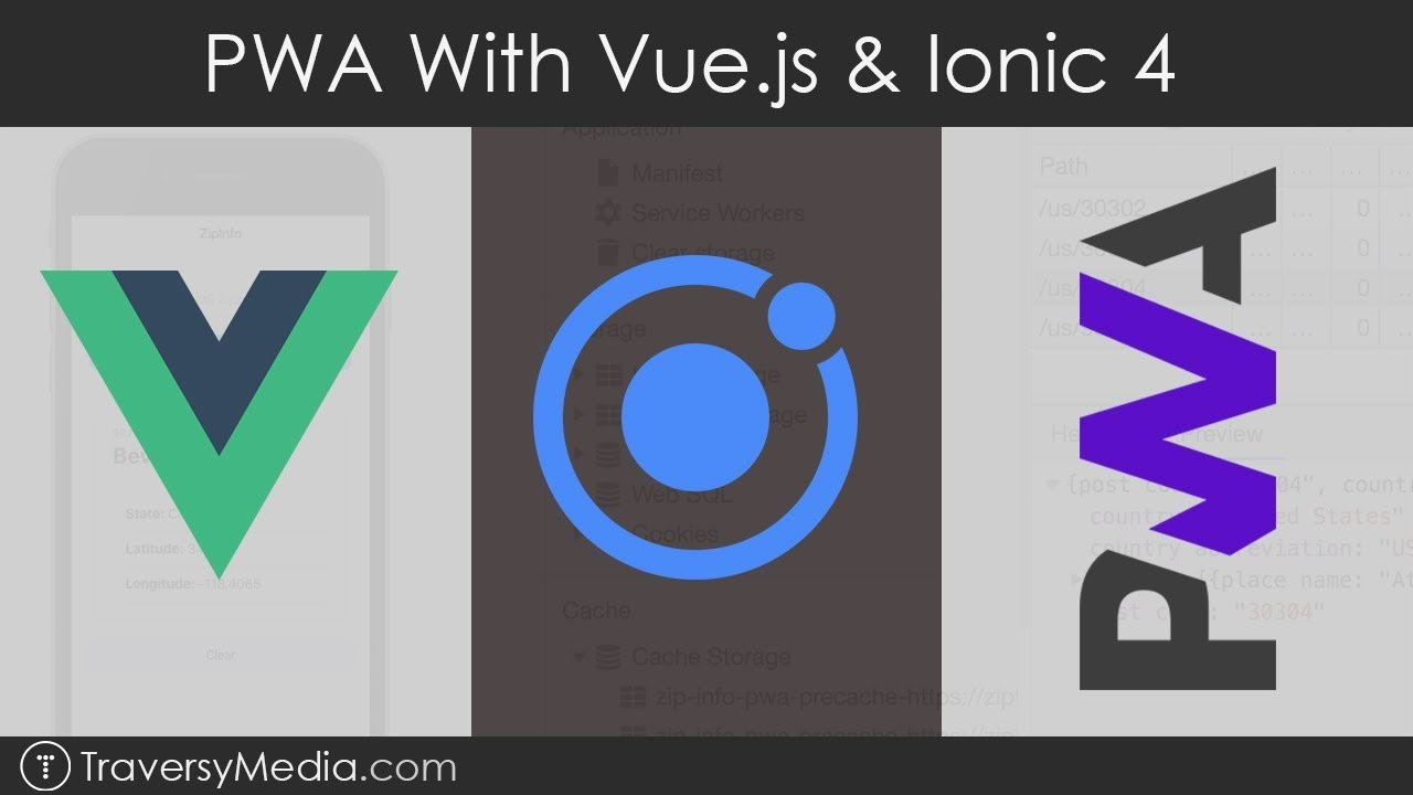 Built a Progressive Web App with Vue.js and Ionic 4