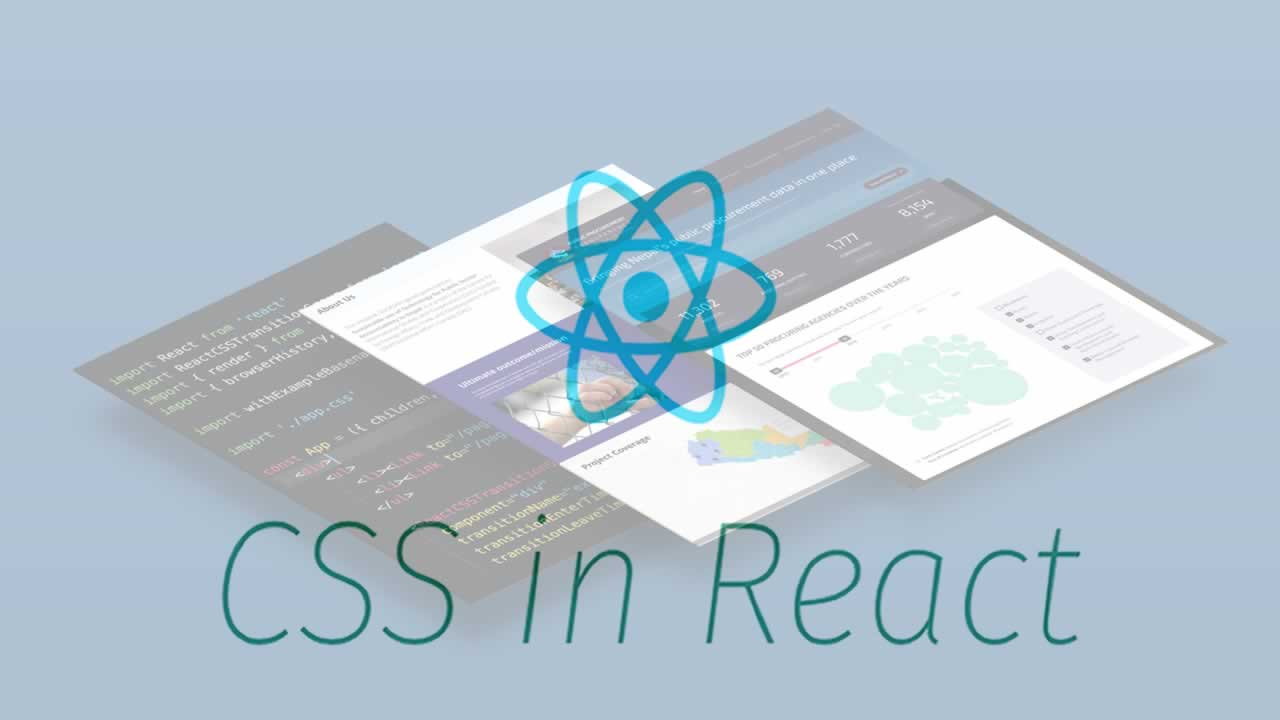 Importing CSS Files in React