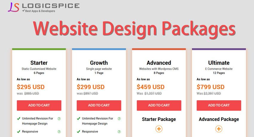 Affordable Website Design Pricing