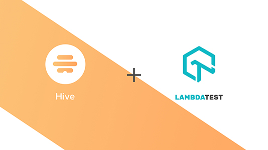 LambdaTest Is Now Live With Hive Integration