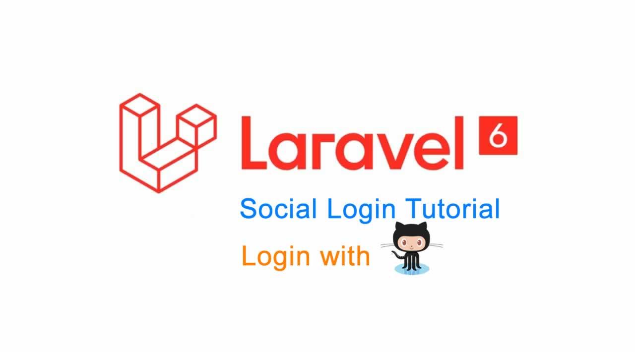 Laravel 6 Social Login Tutorial - Login with Github