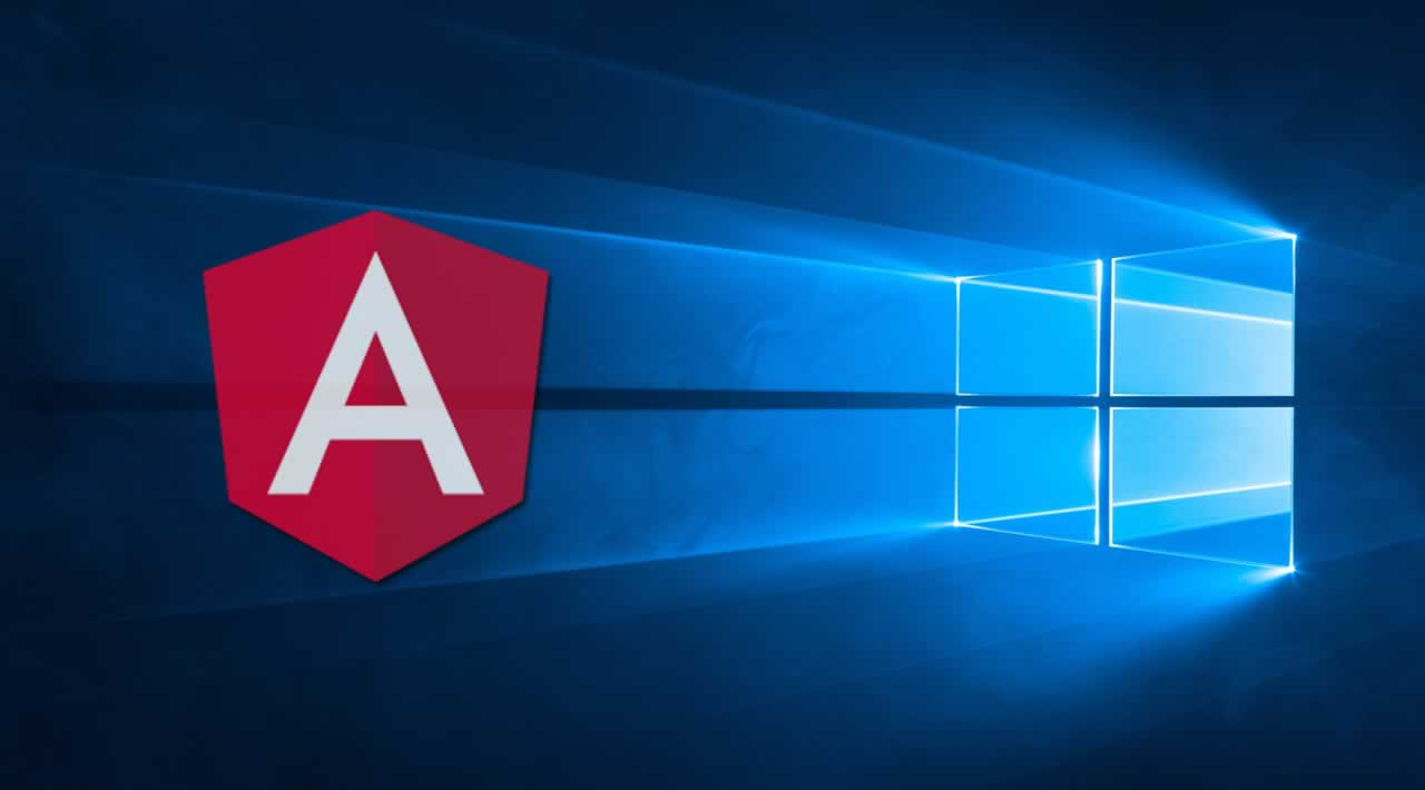 How to Install and running with Angular on Windows