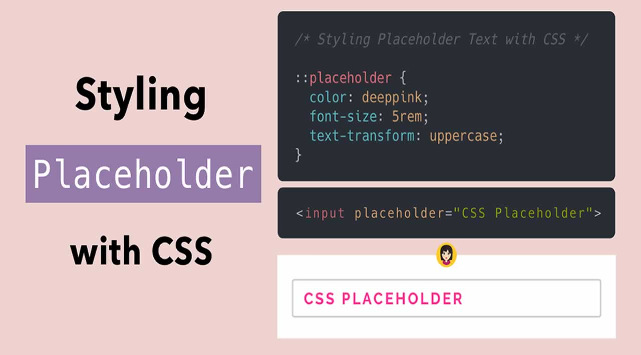 Styling Placeholder Text with CSS