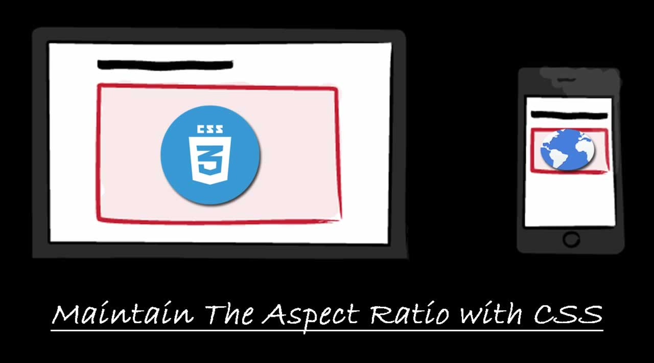 Maintain The Aspect Ratio with CSS